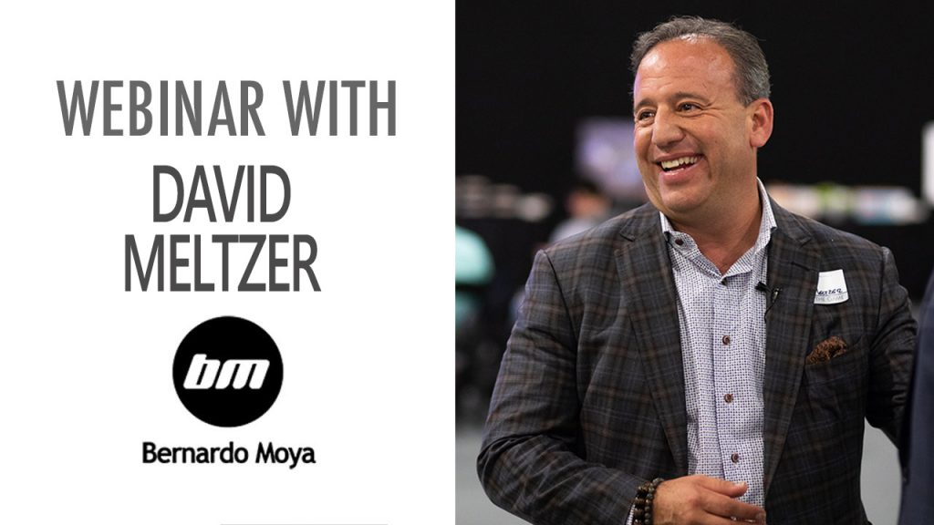 DAVID MELTZER – SIGN UP NOW!